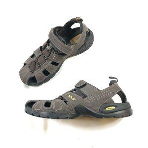Teva Men's Forebay Brown Fisherman Sport Sandals